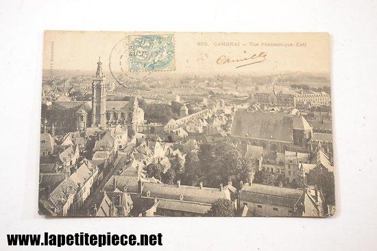 Cambrai - vue panoramique (Est)