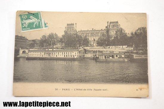 Paris l'Hotel de Ville (façade Sud)
