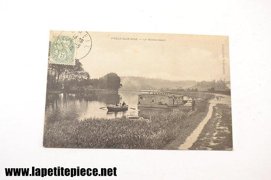 Précy-sur-Oise - le bateau-lavoir (collection Boutagnon)