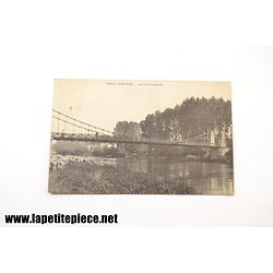 Précy-sur-Oise - le pont suspendu