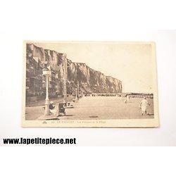 Le Tréport - les falaises et la plage