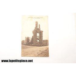 Armentières - ruines de l'Eglise St-Roch