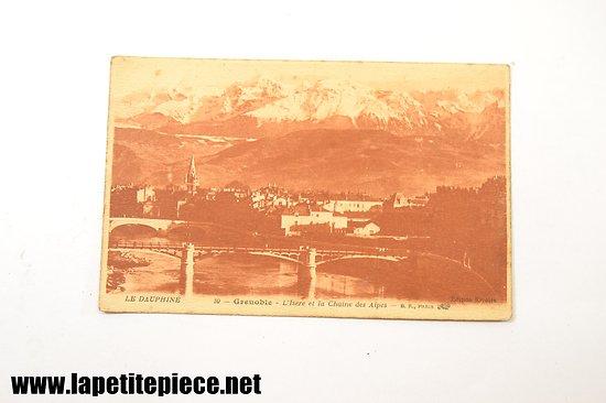 Grenoble - l'isère et la chaine des Alpes Le Dauphiné