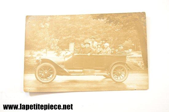 Carte postale photo - automobile ancienne