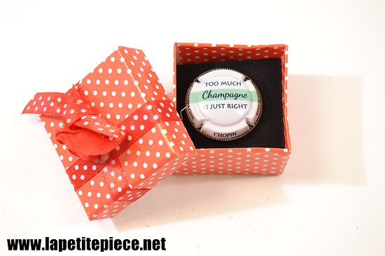 Bague - capsule de Champagne, Champagne Chopin Monthelon