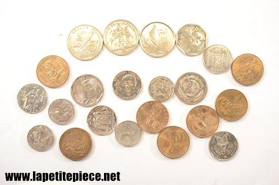 Lot monnaies Françaises (Franc)