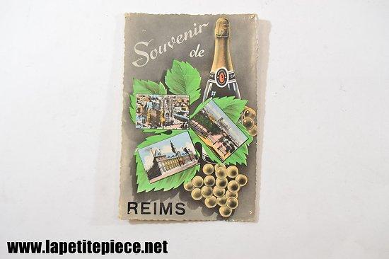 Souvenir de Rimes (bouteille de champagne Pommery)