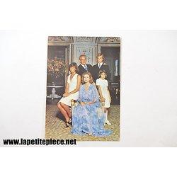 Le Prince Souverain et la Princesse Grace, Albert, Caroline et Stéphanie de Monaco