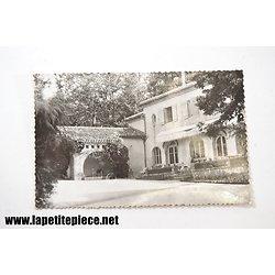 Barbotan les Thermes (Gers) la cour de l'Hotel Cantagril