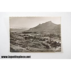 Challes les Eaux (Savoie) vue générale, le Granier et la chaine de Belledonne