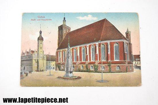 Guben stadt und Hauptkirche
