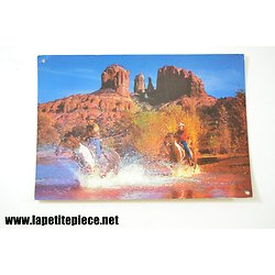 Clark's Ranch USA,  carte postale publicitaire Chewing-gum Clarck's