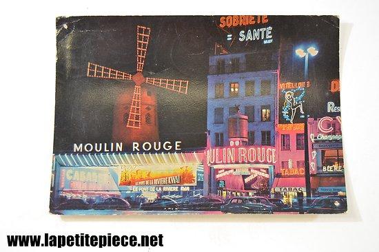 Paris - Le Moulin Rouge (carte voyagée 1962)