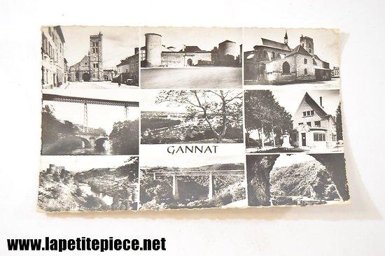 Gannat - la place, chateau des Ducs de Bourbon, Eglise Sainte Croix