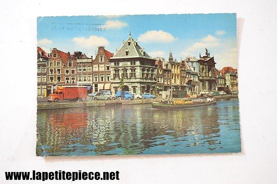 Haarlem spaarne met Waag