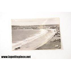 Erquy plage de Caroual et vue générale d'Erquy