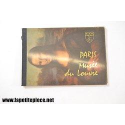 Paris - Musée du Louvre - carnet de cartes postales