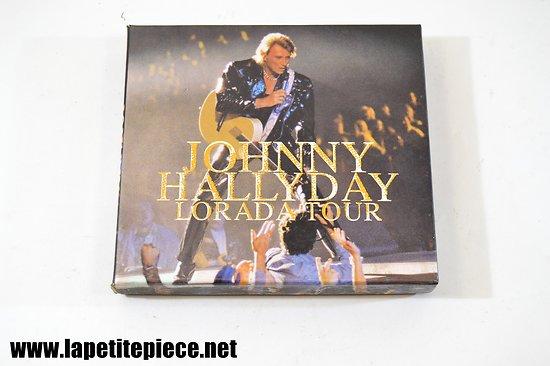 Johnny Hallyday Lorada Tour Coffret cassettes audio