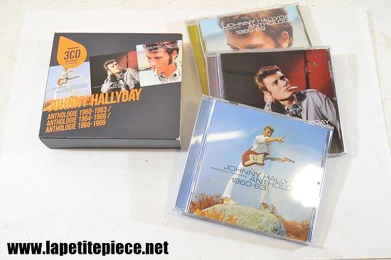 Johnny Hallyday - Anthologie 1960 1969 coffret 3 cd