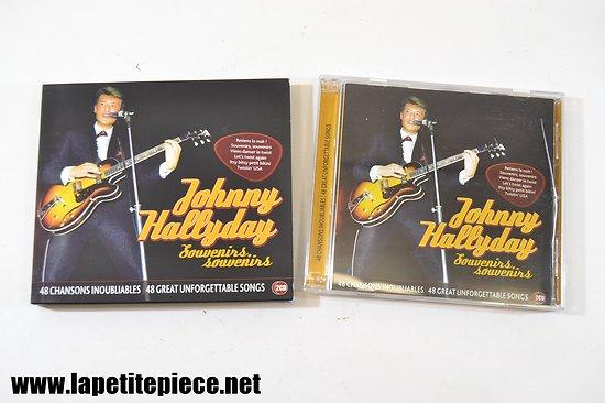 Johnny Hallyday - souvenirs souvenirs - 48 chansons inoubliables cd