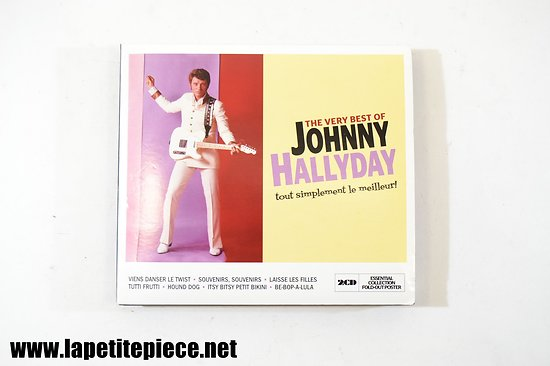 Johnny Hallyday - The very best of cd