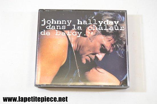 Johnny Hallyday dans la chaleur de Bercy cd