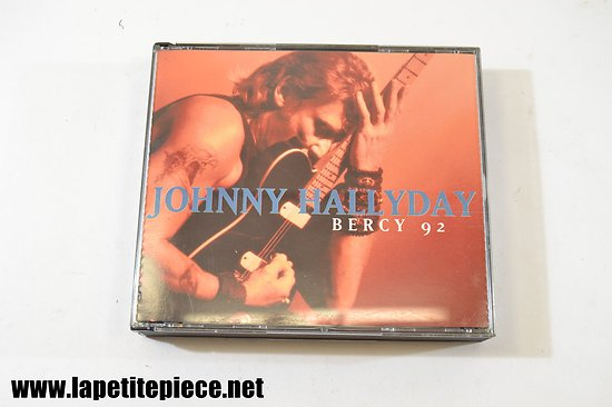 Johnny Hallyday Bercy 92 cd
