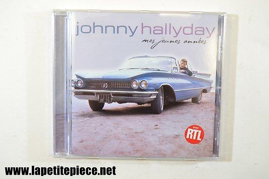 Johnny Hallyday - mes jeunes années CD.