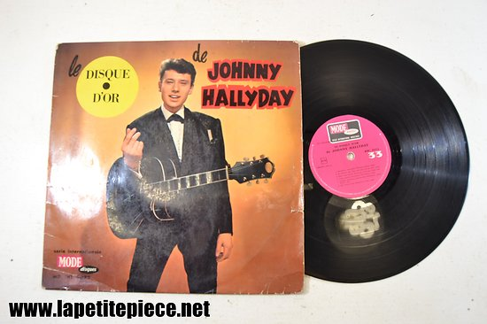 Johnny Hallyday - le disque d'or (mode disques) MD INT. 9072 33T