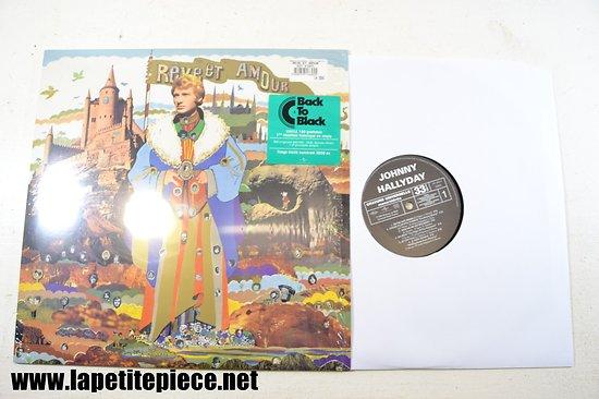 Johnny Hallyday - Reve et amour 33T réédition historique - numéroté