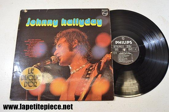 Johnny Hallyday - disque d'or - par cette chanson (volume 1)  33T