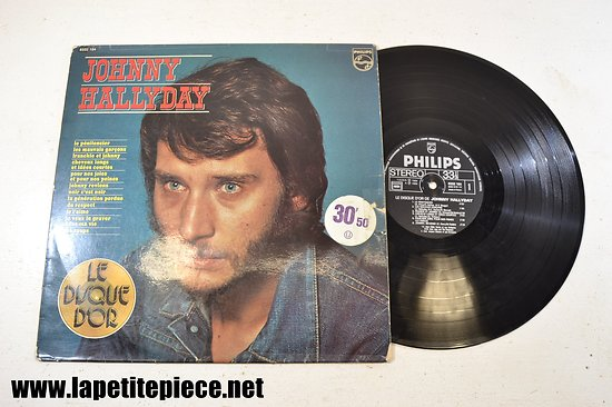 Johnny Hallyday - le disque d'or - volume 3 - le pénitencier 33T