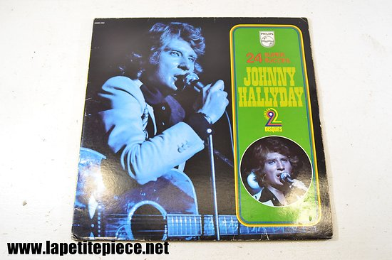 Johnny Hallyday - 24 premiers succès - album double 33T