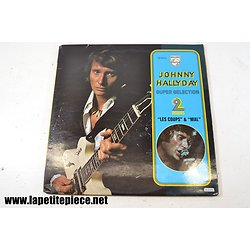 Johnny Hallyday - super sélection - album double 33T