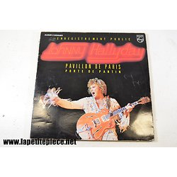 Johnny Hallyday - Pavillon de Paris - porte de pantin - album double 33T