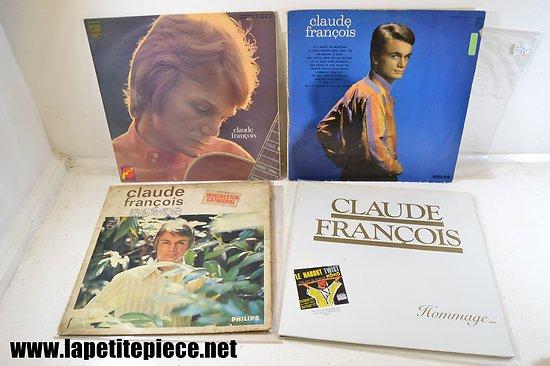 Lot 4 vinyles Claude François 33T