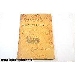 Cours complet de peinture à l'huile PAYSAGES, par Ernest Hareux 1952