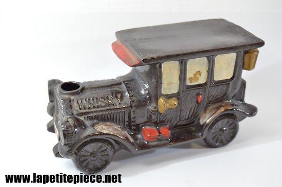 Bouteille à Whisky en céramique, forme de voiture 1910
