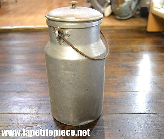 Pot à lait en aluminium, fabrication Suisse