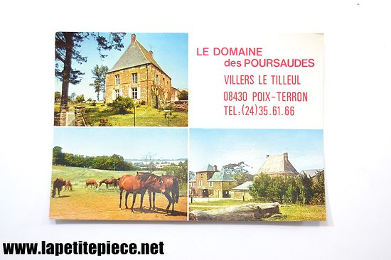 Le Domaine des Poursaudes, Villers le Tilleul / Poix-Terron. Centre equestre