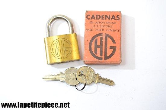 Cadenas CHG n°35 avec boite d'origine