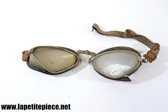Paire de lunettes de protection SNCF années 1940 - 1960