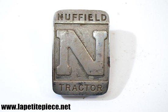 Insigne de tracteur NUFFIELD TRACTOR