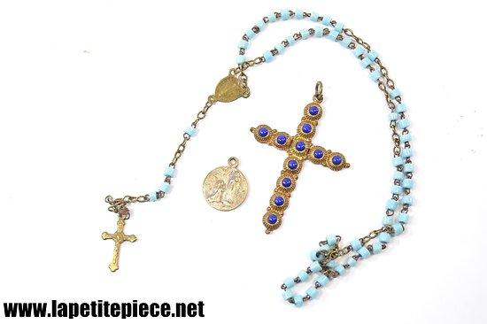 Ensemble bijoux / croix religieuses