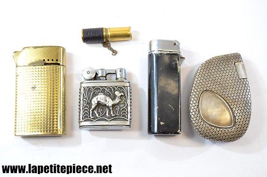 Lot briquets de collection - Feudor, Myon, Bentley et Flaminaire Paris