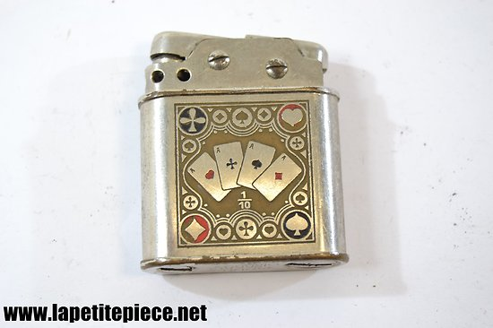 Briquet Augusta Lünser Poker - années 1930
