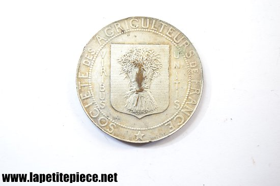 Médaille d'argent société des agriculteurs de France PILLET