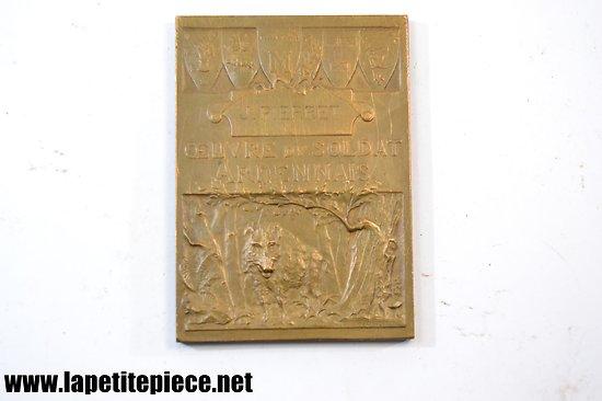 Médaille Prud'homme (G.-H.) : l'œuvre du soldat ardennais, 1917 Paris
