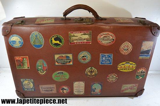 Valise vintage restaurée