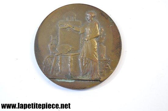 Médaille école régionale des arts industriels de Reims. 1912